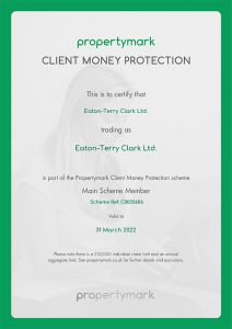 Eaton-Terry Clark – Client Money Protection Certificate